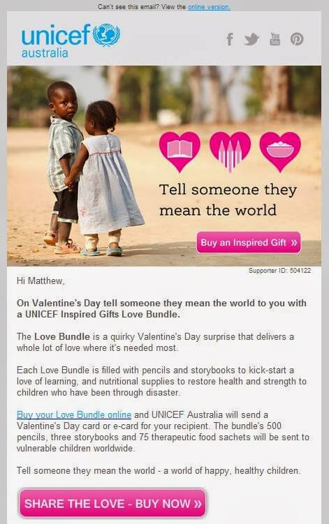 Share The Love With Valentines Day Email Marketing